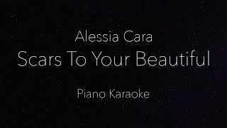 Alessia Cara - Scars To Your Beautiful (Piano Karaoke)