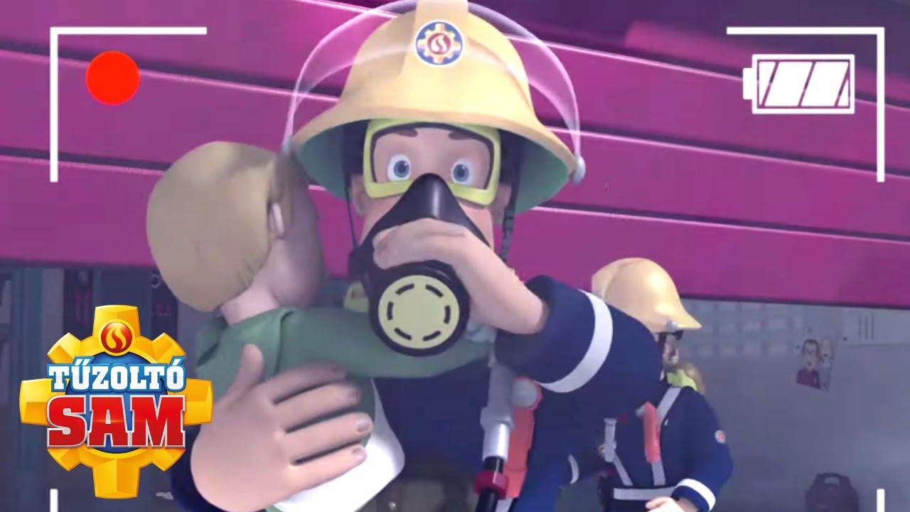 Tűzoltó Sam   Szuper mentés fogott a Kamera!   összeállítás   Rajzfilmek gyerekeknek