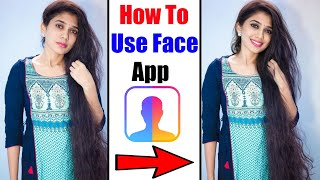 How To Use Face App | FaceApp - Face Editor, Makeover & Beauty App screenshot 1