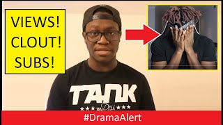 DEJI did it for the VIEWS! ( KSI MAD! ) #DramaAlert Deji ( DELETED VIDEO ) YouTube did an Oopsie!