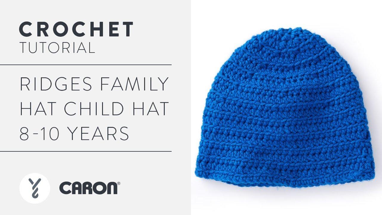 Crochet A Child Hat Ridges Family Hat Youtube