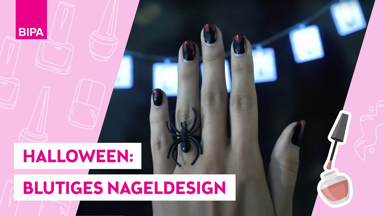 Halloween Nägel.Tutorial Halloween Nägel Look By Bipa Create Your Look