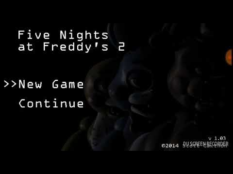 Primer video jugando five nights at freddry's 2