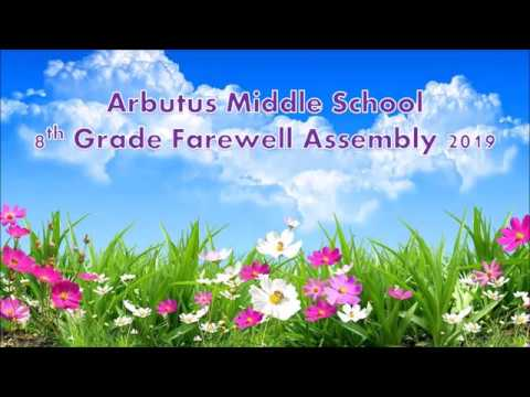 2019 Arbutus Middle School Farewell Assembly
