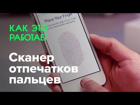 Как устроен сканер отпечатков