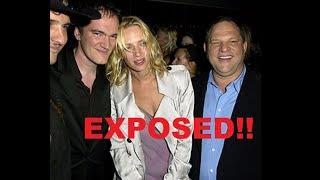 Uma Thurman BREAKS SILENCE!!  EXPOSES Harvey Weinstein!!!?