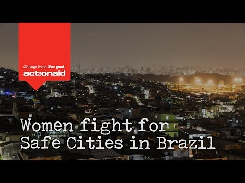 Women fight for safe cities in Brazil
