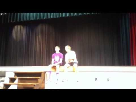 Grantsburg high school seniors homecoming 2012