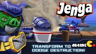 Angry Birds Transformers: Unlocked Jenga Mode All Auto Birds Max Level Gameplay Part 66
