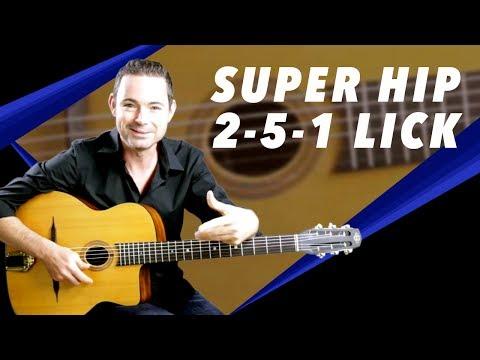 Super Hip 2-5-1 Lick - Gypsy Jazz Guitar Secrets Lesson