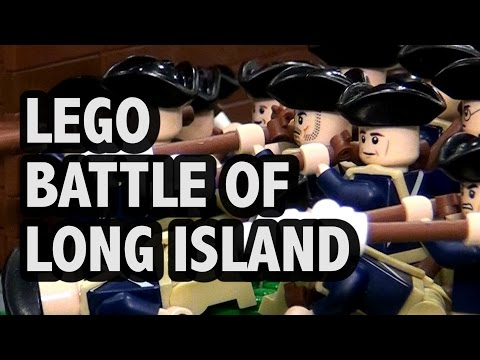 LEGO Battle of Long Island | American Revolutionary War 1776