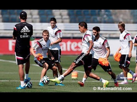 Real Madrid - Training 20-08-2014