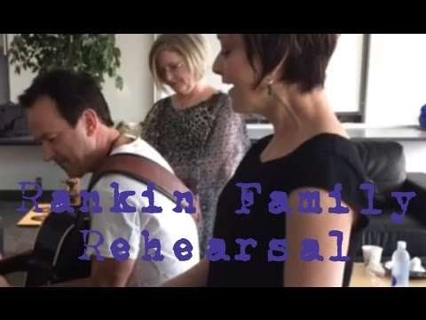 The Rankin Family Rehearse Before the FireAid Benefit for Fort McMurray