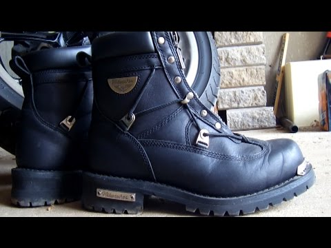 MILWAUKEE THROTTLE BOOTS a quick review and ride - YouTube