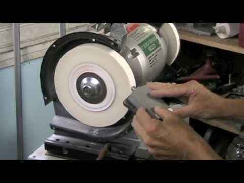 Trueing A Grind Wheel 1 Youtube