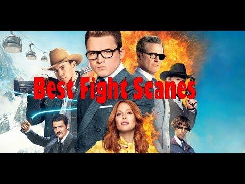 Best Fighting Scene In Kingsman The Golden Circle 2 2017 HD