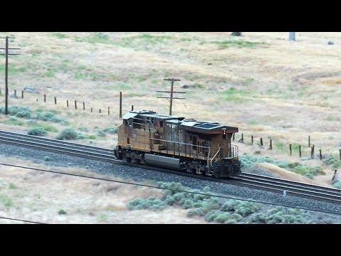 Union Pacific Locomotive Looks Like A Runaway