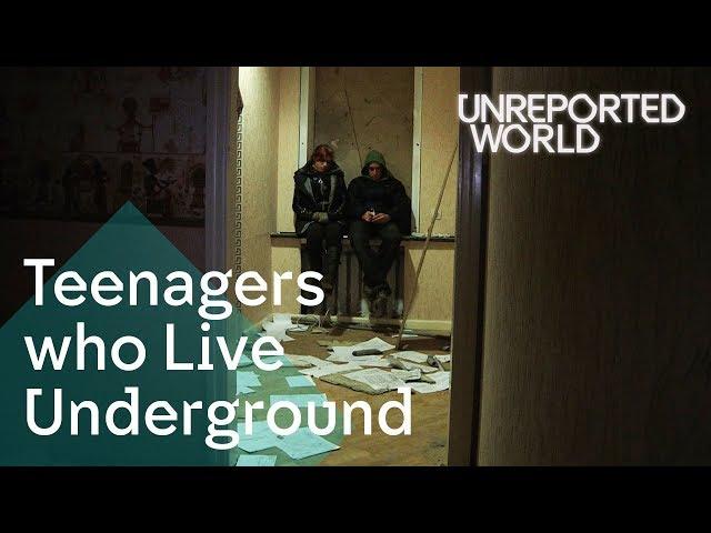 Ukraines teens living underground to stay alive   Unreported World