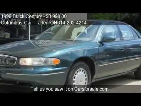 1999 buick century limited video used car for sale priced under 4000 in columbus oh 43214. Black Bedroom Furniture Sets. Home Design Ideas