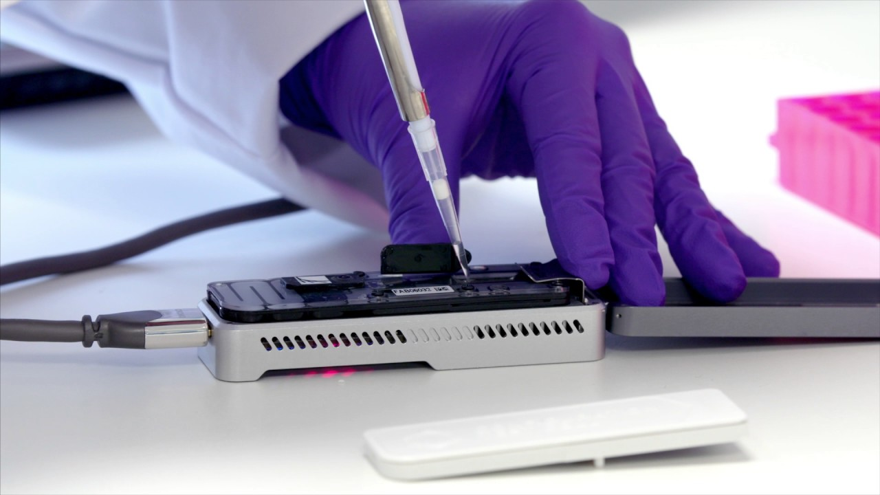Kredit: Oxford Nanopore Technologies.