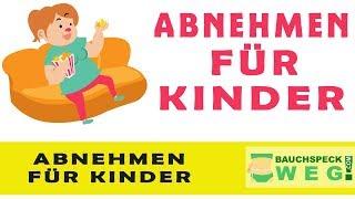 TOP 10 Tipps zum ABNEHMEN FÜR KINDER und JUGENDLICHE - Schnell Abnehmen für Kinder & Teenager
