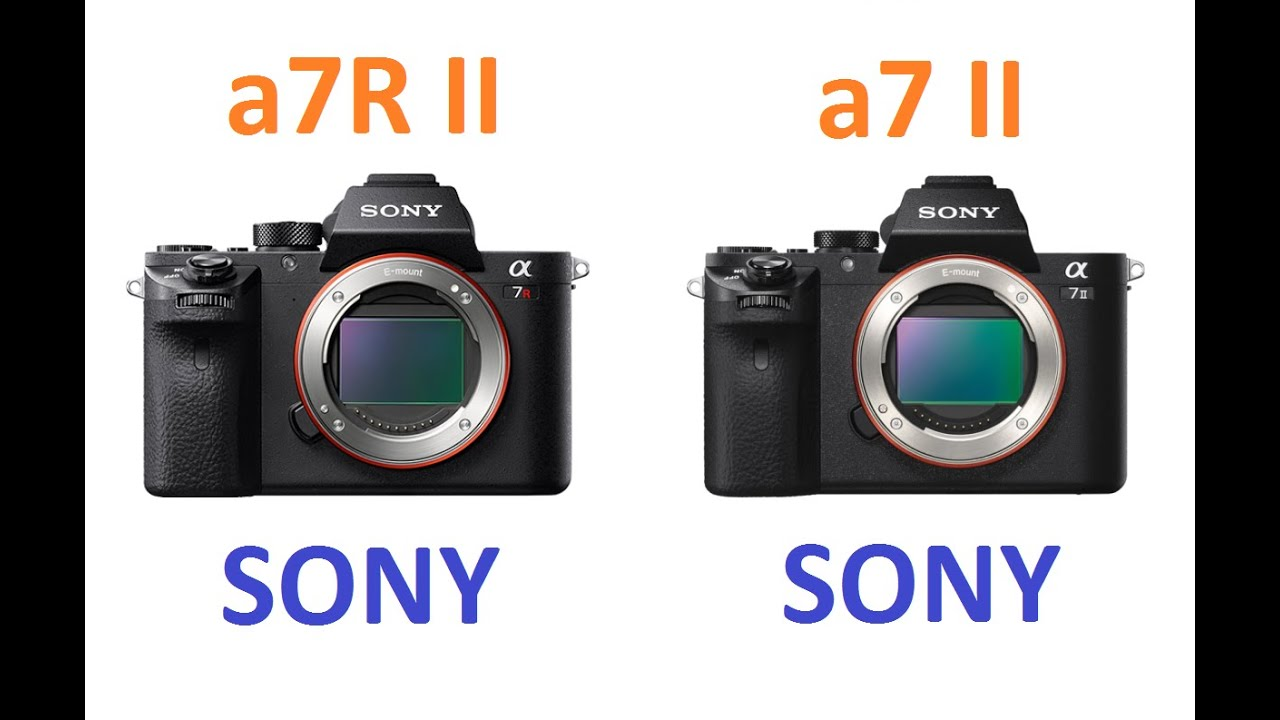 sony a7r ii vs sony a7 ii youtube. Black Bedroom Furniture Sets. Home Design Ideas