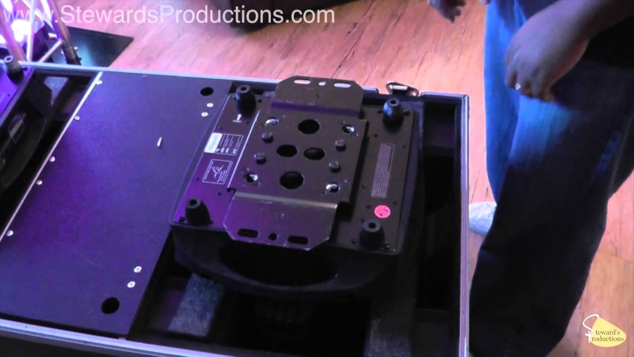 Up Lighting for Vertical Global Truss for DJS how to