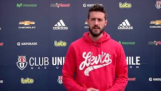 Fernando de Paul, jugador de la Universidad de Chile - #MovámonosPorLaInclusión