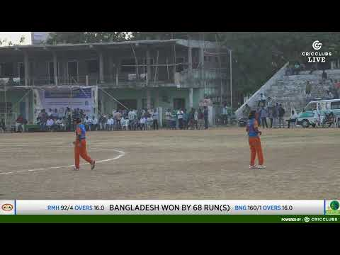 All India Womens T-20 ( BANGLADESH VS RAGINI MAHARASHTRA) from Khammam-2019