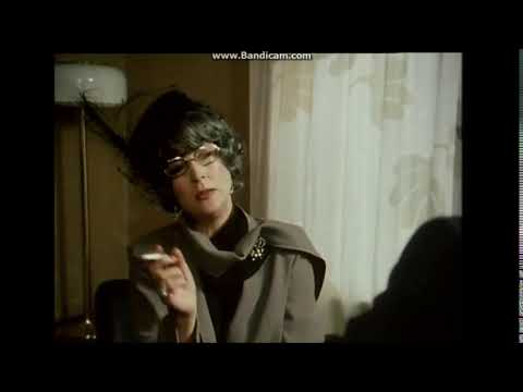 Birgitta Andersson smoking