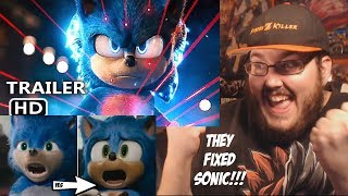 Sonic The Hedgehog (2020) - New Official Trailer - Paramount Pictures REACTION!!!