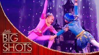Enchanting Russian Acrobats | Little Big Shots