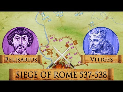 Siege of Rome 537-538 - Roman - Gothic War DOCUMENTARY