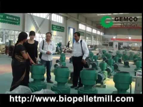 GEMCO biomass pellet mill making biofuel pellets for sale