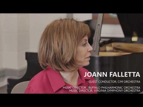 Conductor JoAnn Falletta at CIM