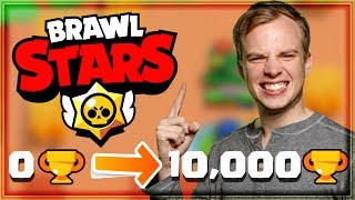 FAST TROPHY PUSH GUIDE in BRAWL STARS! Easy Strategy