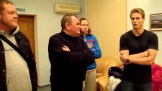Пловцы В. Морозов и В. Синькевич вернулись в Волгоград