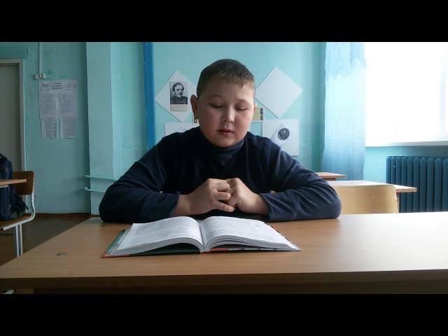 Изображение предпросмотра прочтения – МаксимМузафаров читает произведение «Тучи» М.Ю.Лермонтова