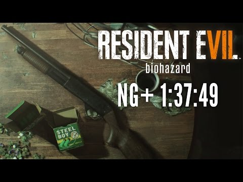 Resident Evil 7 - New Game+ Speedrun in 1:37:49