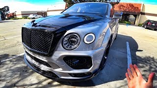 Тачки Олега - Mansory Bentley Bentayga!  Обзор и тест-драйв в Сан-Франциско!