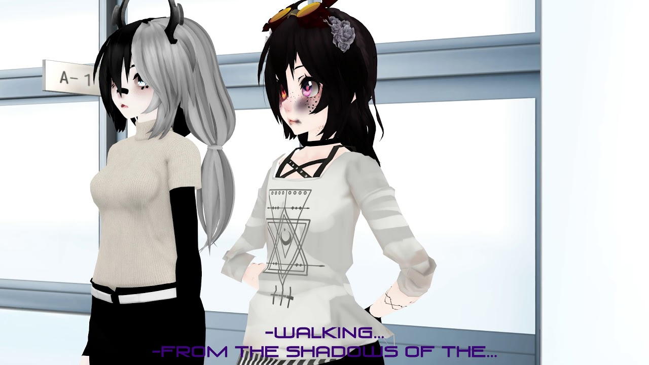 【MMD ♥ Friends】 Don't sing over me