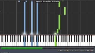 Road to Ninja - Naruto Shippuuden & Movie OST - SYNTHESIA PIANO TUROIAL + MIDI