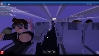 Roblox - Air Canada flight to Montreal (Short version)
