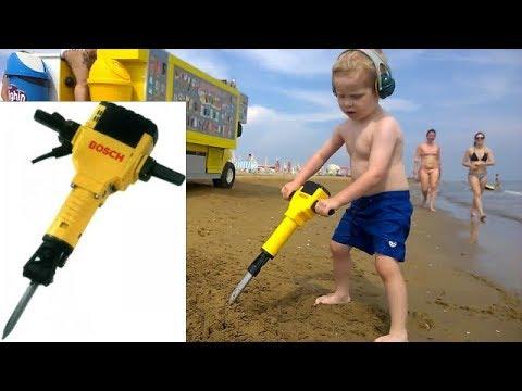 Fűrészmánia gyerekeknek - Bosch légkalapács