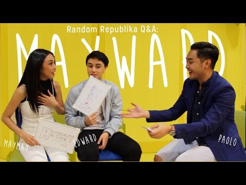 EXCLUSIVE: Backstage Interview with Maymay Entrata & Edward Barber - MAYWARD In Singapore