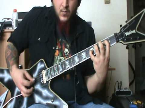 Pantera - Hollow guitar cover - by Kenny Giron (kG) #panteracoversfromhell
