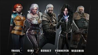 The Witcher 3: Wild Hunt OST -  Hunt or Be Hunted - Characters