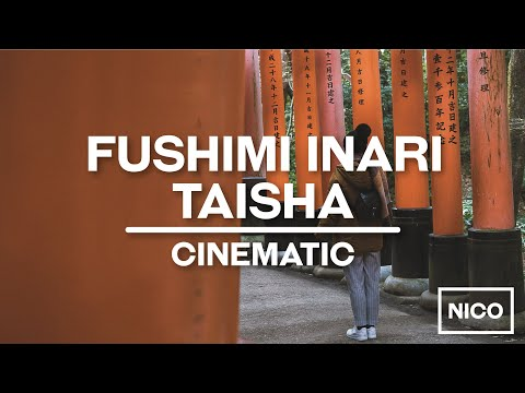 Fushimi Inari Taisha - Kyoto - Cinematic