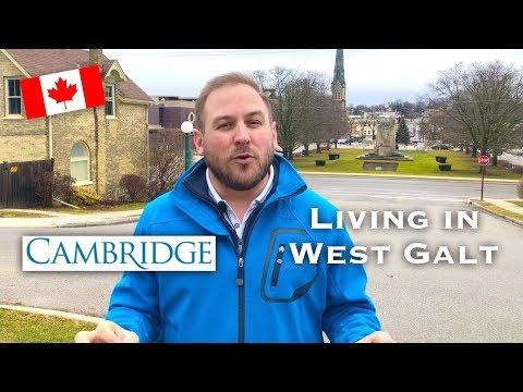 Cambridge Ontario, West Galt 🇨🇦