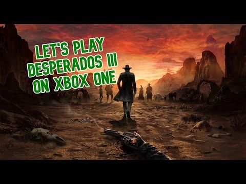 Let S Play Desperados Iii On Xbox One Youtube